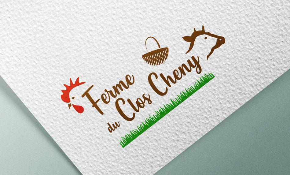 Ferme du Clos Cheny - logotype